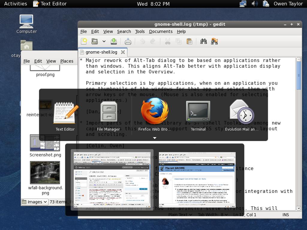 GNOME Shell 2 28 0 – A Preview | fishsoup