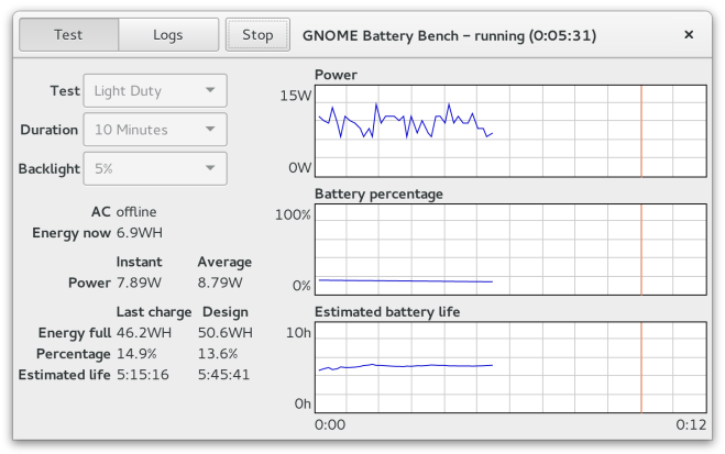 gnome-battery-bench